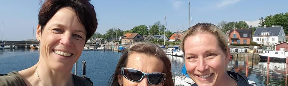 Vårt team (förutom Ingvar) i Landskrona: Ylva Nowén, Eva